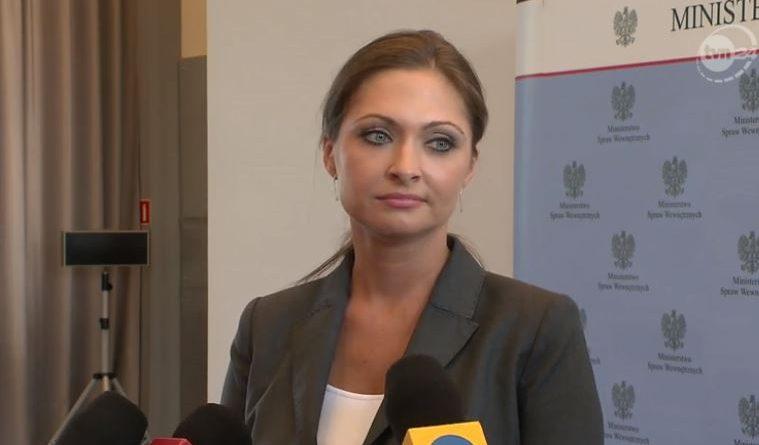 Monika Sapieżyńska - screen TVN24