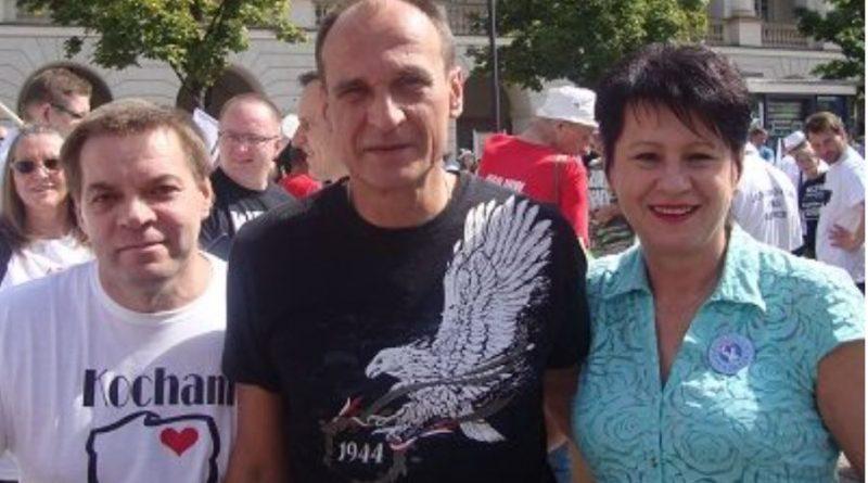 Iwona Możejko, Paweł Kukiz, Stanisław Olsztyn, Warszawa, 30.08.2015 r.