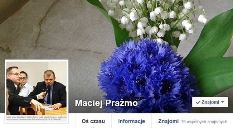 Maciej Prażmo odpowiada