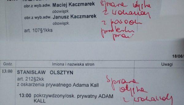 Protest w sądach w całej Polsce'