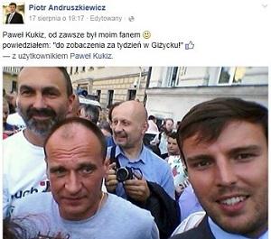 Paweł Kukiz od zawsze był moim fanem