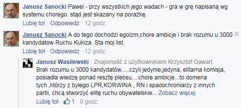 "alt=""Janusz Sanocki obraża 3000 zwolenników Kukiza"""