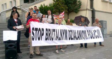 stop brutalnym działaniom policji łamanie prawa przez policję