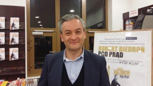 Robert Biedroń w Olsztynie