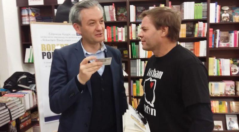 robisz super piar Robert Biedroń i Ku Prawdzie - 2016 Olsztyn - fot. Stanisław Olsztyn