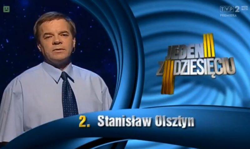 Jeden z dziesięciu - 2016 - Stanisław Olsztyn
