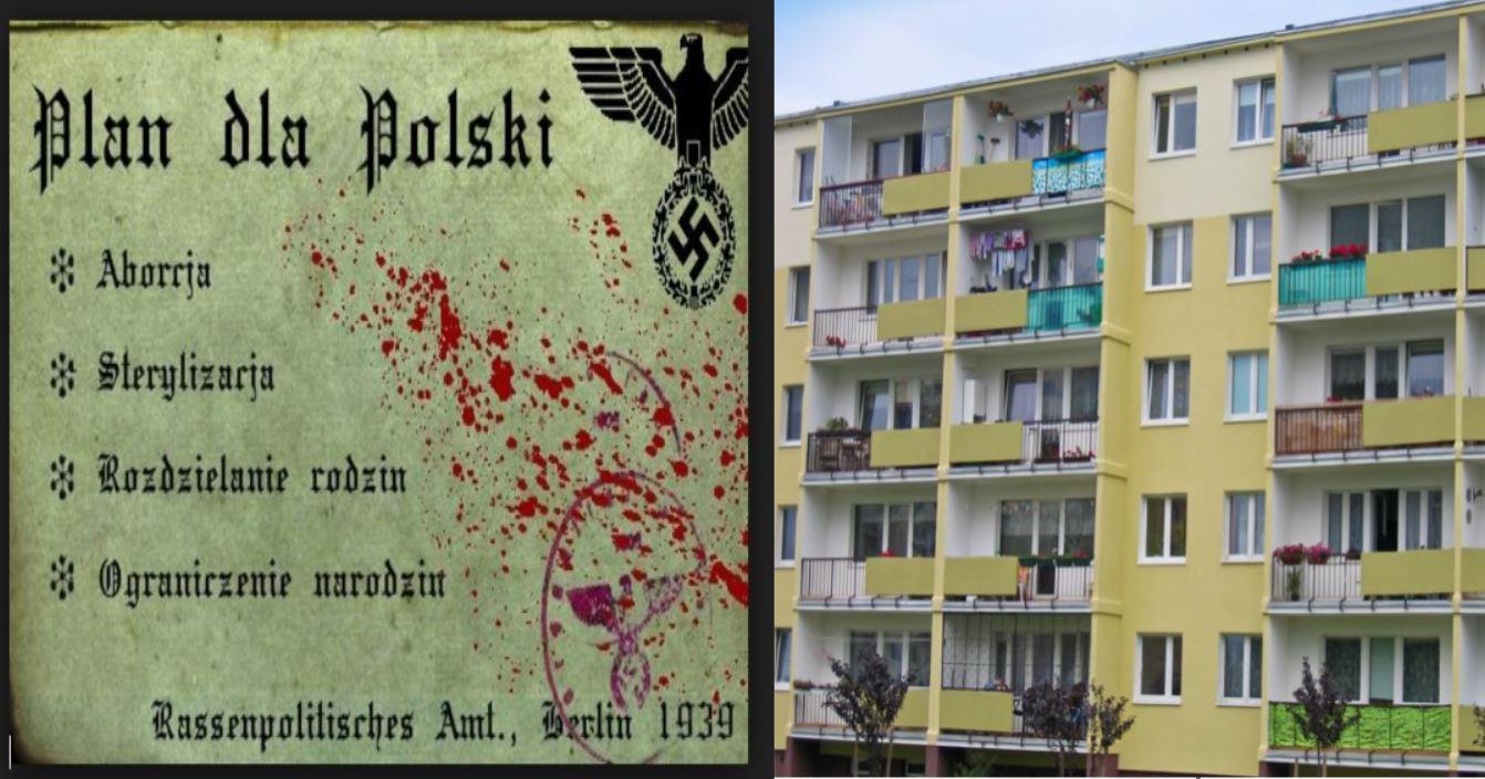 Celowa depopulacja narodu polskiego