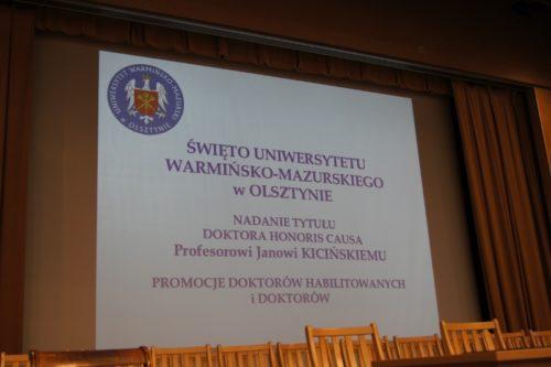 02.06.2017 r. - Święto UWM, fot. Stanisław Olsztyn