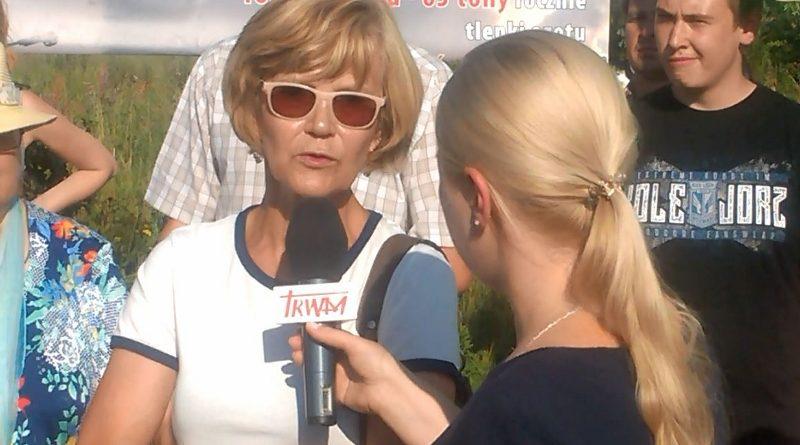Barbara Osipowicz, 19.07.2017 r., fot. Stanisław Olsztyn