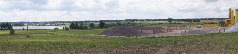 Wytwórnia mas bitumicznych w Klewkach, fot. S. Olsztyn