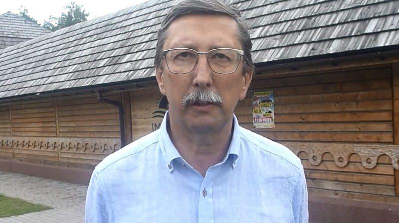 Jan Żaryn - Myszyniec, 27.08.2017 r. - fot. A. Adamowicz