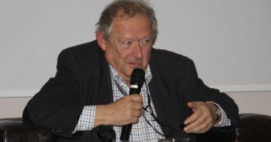 Adam Michnik w Olsztynie Kto krytykuje PiS