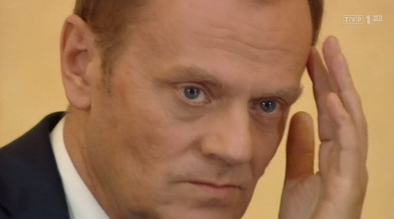 Lokomotywa polityczna Donald Tusk