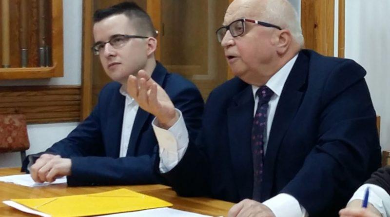 Lech Obara - Olsztyn 18.12.17 r. - Reparacje wojenne - fot. Stanisław Olsztyn