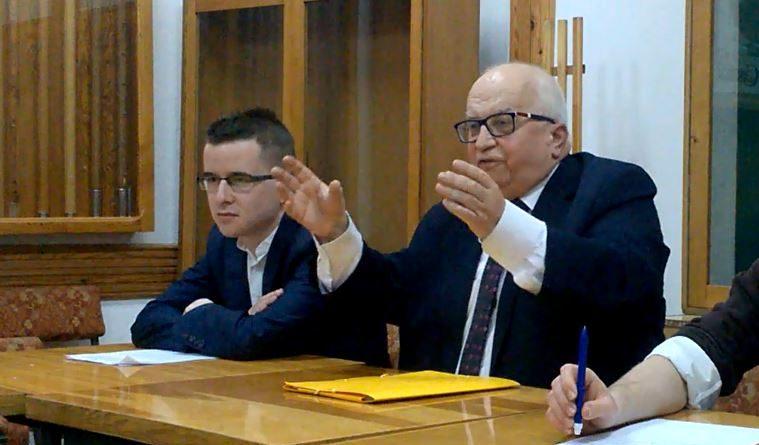 amerykańscy Żydzi Lech Obara & Przemysław Gałązka - Rozmowy o Ojczyźnie 18.12.17 r. - fot. S. Olsztyn