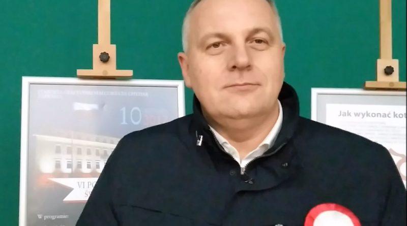 Mirosław Pampuch - Olsztyn, 10.11.2017 r. - fot. Andrzej Adamowicz