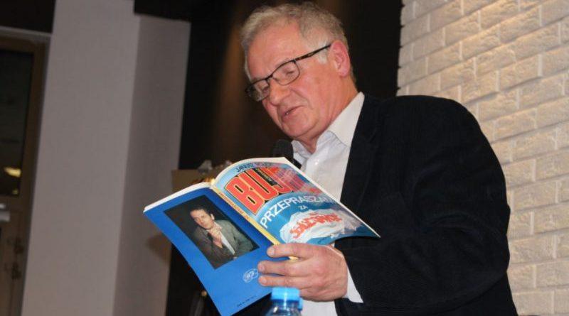 Przepraszam za Solidarność to zła książka! Zbigniew Bujak - Olsztyn, 25.01.2018 r. - fot. S. Olsztyn