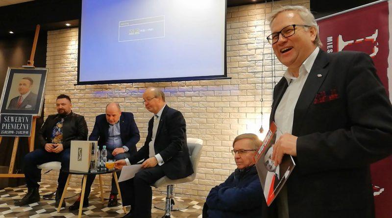 22.02.18 r. Debata z Debatą - Współcześni spadkobiercy Seweryna Pieniężnego - fot. S. Olsztyn