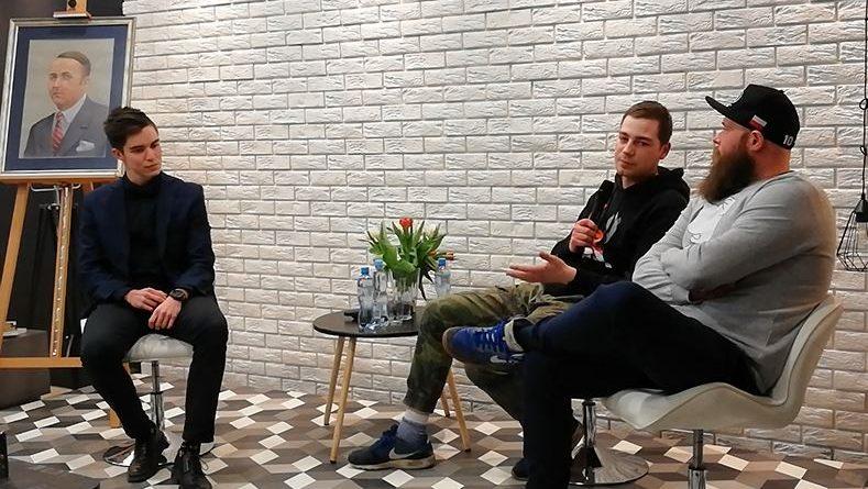 28.02.18 r. Olsztyn, Książnica Polska - Panel dyskusyjny: Czy warto działać w Olsztynie? - fot. S.Olsztyn