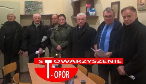 Stowarzyszenie T-OPÓR - Spotkanie inicjujące - fot. S. Olsztyn