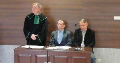 Komuna górą - Sierp i Młot - Kałudziński i Kozioł kontra Gmina Olsztyn - fot. S. Olsztyn