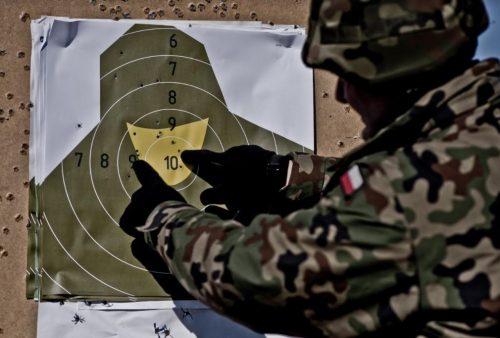 Terytorialsi strzelali w Morągu