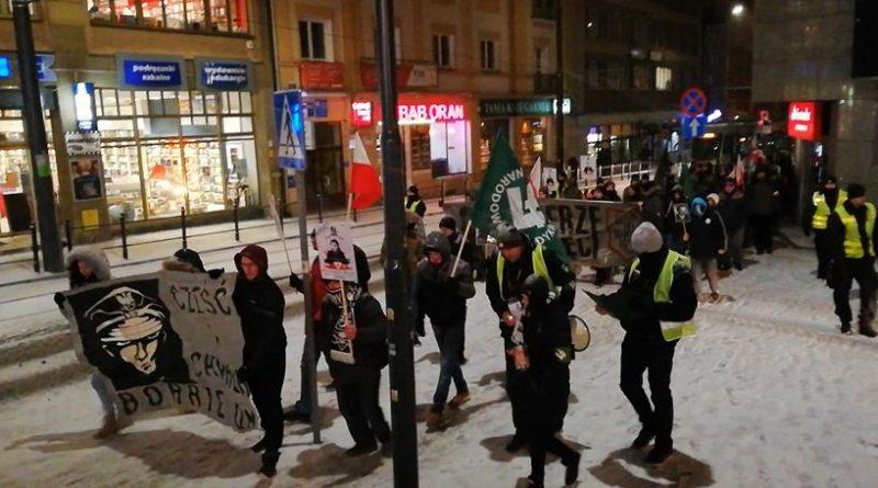 V Olsztyński Marsz Pamięci Żołnierzy Wyklętych - 01.03.18 r. (3) - fot. Stanisław Olsztyn