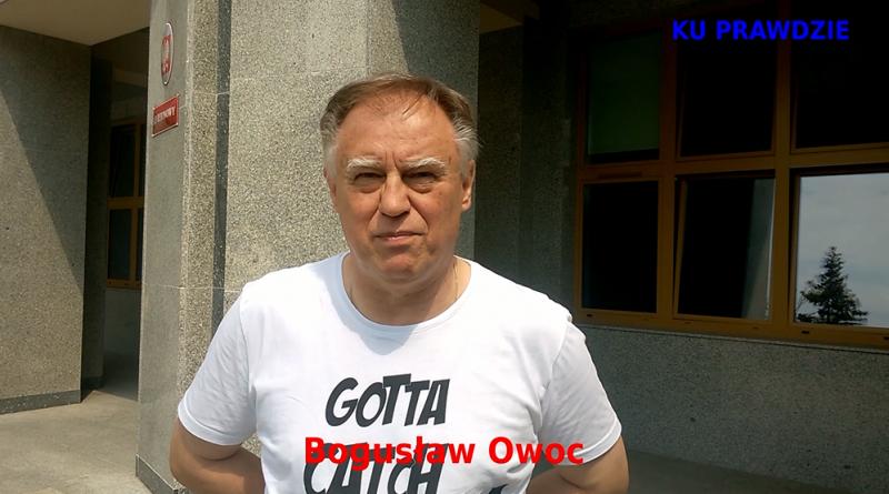 Wyrok jest pod zamówienie - Bogusław Owoc - 18.06.2018 r. - fot. S. Olsztyn