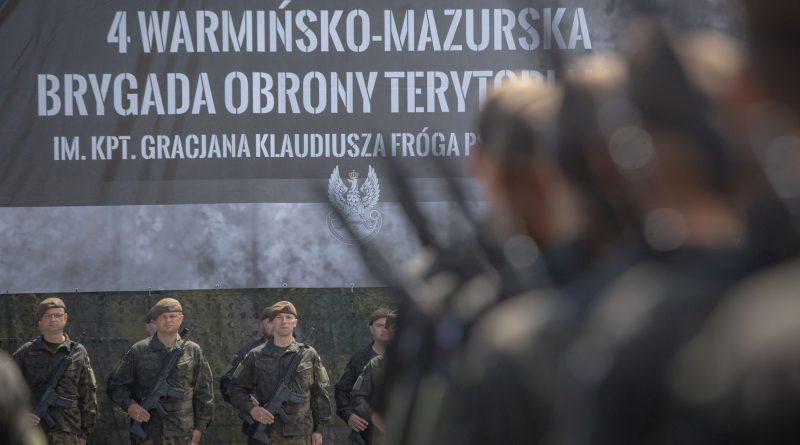 Staliście się częścią WOT - Przysięga Terytorialsów w Olsztynie - 24.06.18 r.