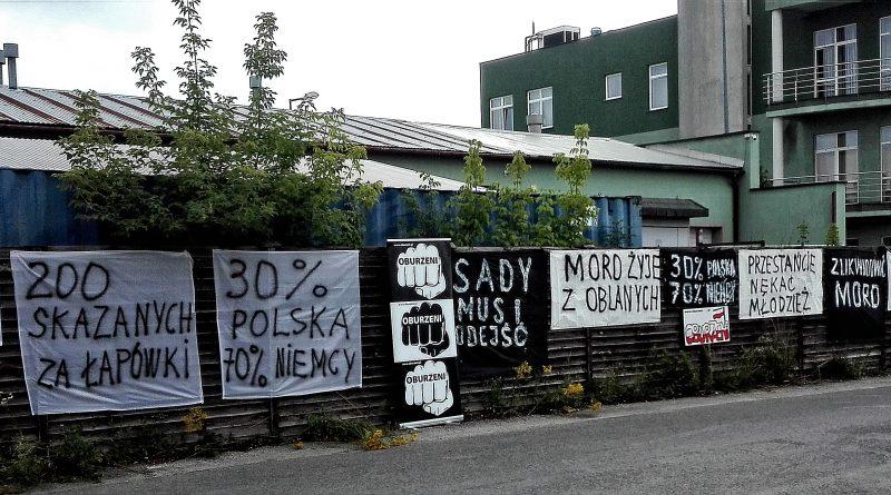 Czy Polacy są dwa razy - Pikieta przed MORD w Tarnowie, czerwiec 2018
