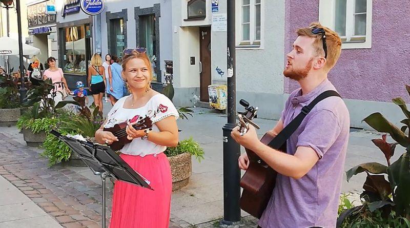 Estera i Piotr z Ełku, Olsztyn 03.08.18 r. - fot. S. Olsztyn