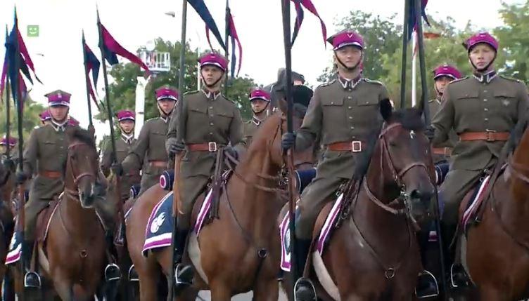 Wojsko Polskie - Defilada Niepodległości 15.08.18 r.