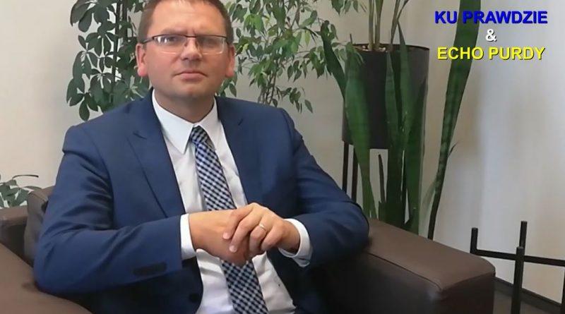 Maciej Nawacki - Prezes Sądu Rejonowego w Olsztynie - fot. S. Olsztyn