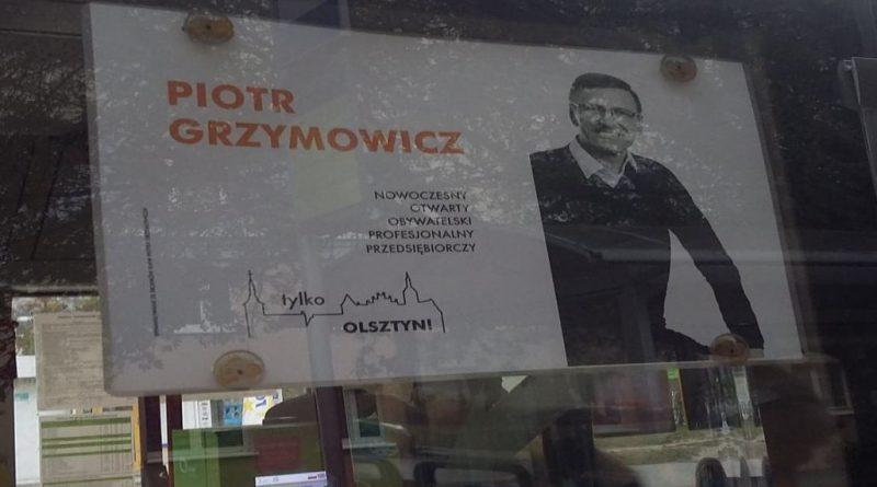 Kilka konkretów Skandal w galerii Piotr Grzymowicz - Reklama w MPK