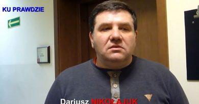 Dariusz Nikołajuk w Sądzie Rejonowym w Olsztynie - 21.01.2019