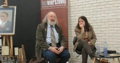 Czy warto być dziennikarzem - Marzena Burczycka-Woźniak i Tadeusz Woźniak - 23.02.2019 - fot. Stanisław Olsztyn