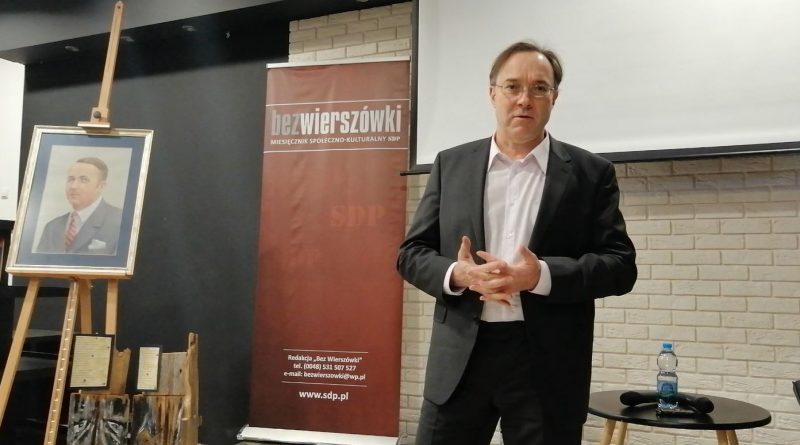 Marek Gizmajer w Olsztynie 22.02.2019 - fot. Stanisław Olsztyn