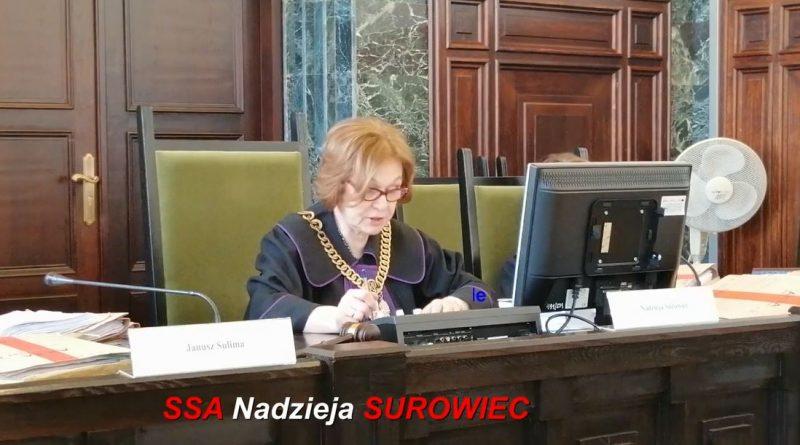 Skandaliczny wyrok - Nadzieja Surowiec - 19.02.2019