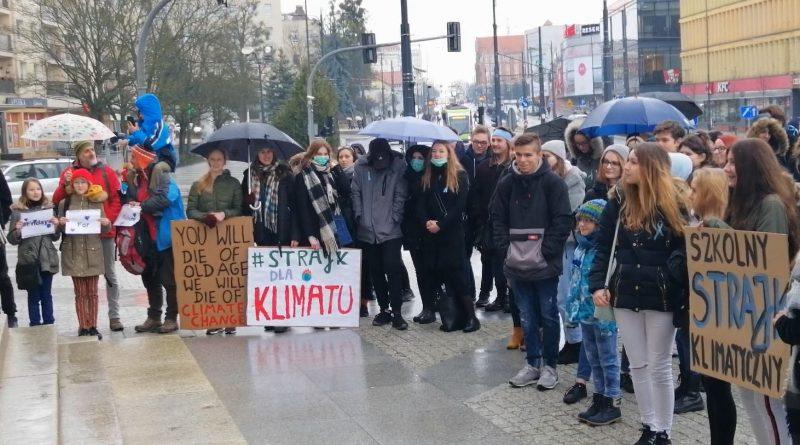 Szkolny Strajk Klimatyczny Olsztyn 2019 - fot. Stanisław Olsztyn