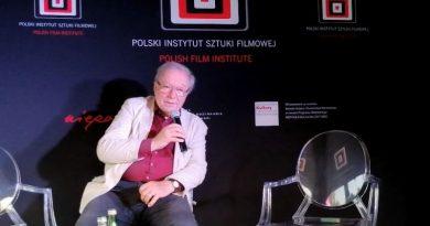 Krzysztof Zanussi w Olsztynie - Kino Niepodległej