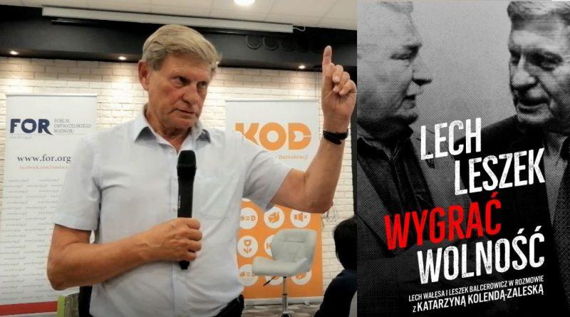 Wygrać wolność - Leszek Balcerowicz w Olsztynie - fot. Stanisław Olsztyn