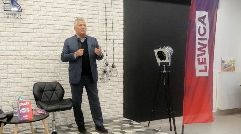 PiS to partia - Aleksander Kwaśniewski w Olsztynie - 20.09.2019 - fot. Stanisław Olsztyn