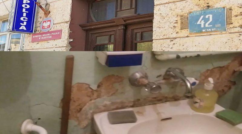 Syf w Komendzie Miejskiej Policji w Olsztynie - fot. Stanisław Olsztyn