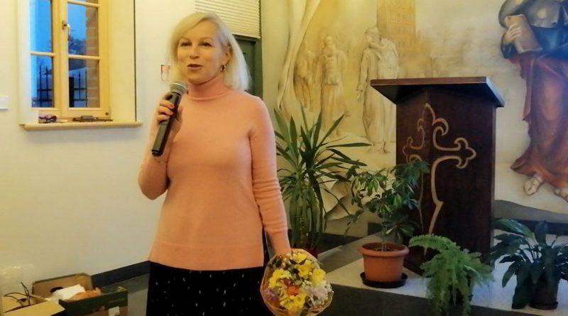 prof. Joanna Garbula - Szlak św. Jakuba w relacjach pielgrzymów - 08.10.19 - fot. S. Olsztyn