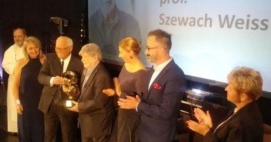 Szewach Weiss - Laureat Nagrody Pokoju 2019