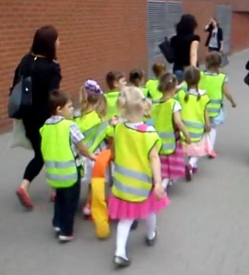 Parada przedszkolaków