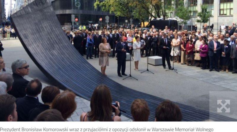 Memoriał Wolnego Słowa - fot. polskieradio.pl