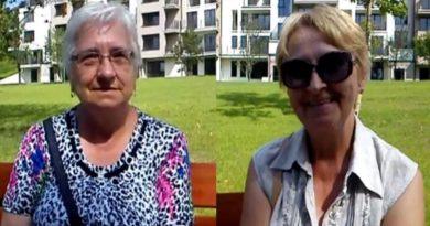 Nadzieja i Maria o Parku Centralnym w Olsztynie
