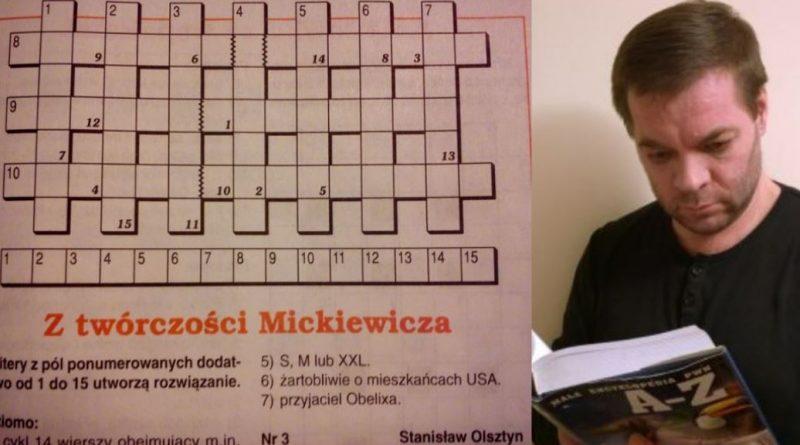 Z twórczości Mickiewicza - Stanisław Olszty
