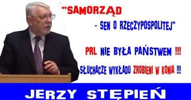Jerzy Stępień - Samorząd - sen o Rzeczypospolitej